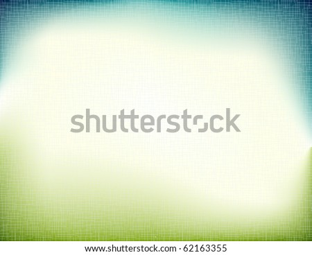 Vector of grunge nature background - stock vector