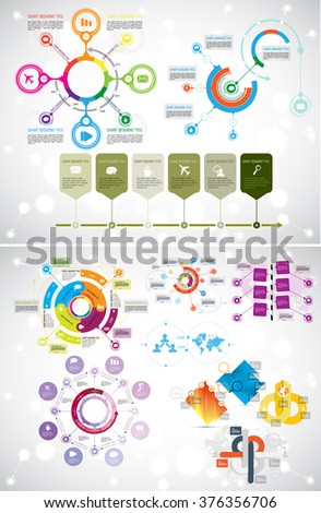 Vector of infographic - stock vector