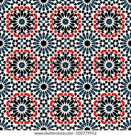 Vector of Islamic pattern - stock vector