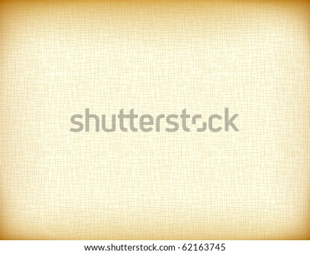 Vector of old paper imitation - stock vector