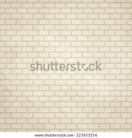 vector of old vintage paper background with wall - stock vector