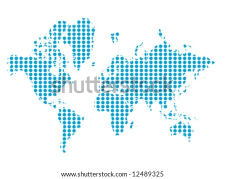 Vector of the world