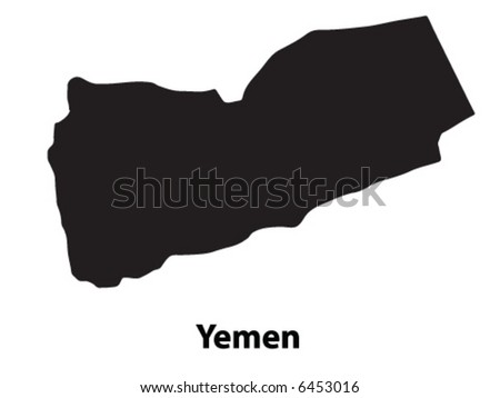 Vector of Yemen - stock vector