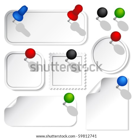 Vector office collection - stock vector