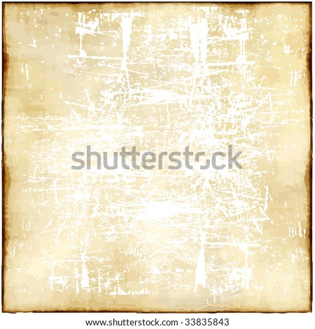Vector Old Light Paper - stock vector