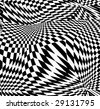 vector - optical art - stock