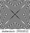 vector - optical art view - stock vector