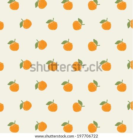 Vector Orange pattern. Background  - stock vector