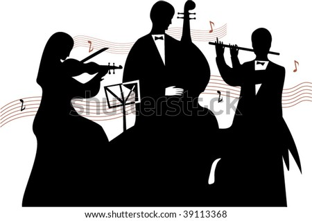 Vector orchestra out of three musicians