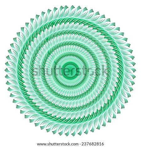 Vector ornament background - stock vector