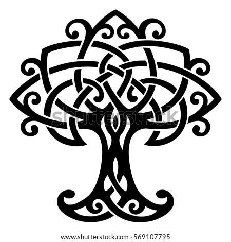vector ornament decorative celtic tree life stock photo photo rh shutterstock com tree of life logo healthcare tree of life logo design