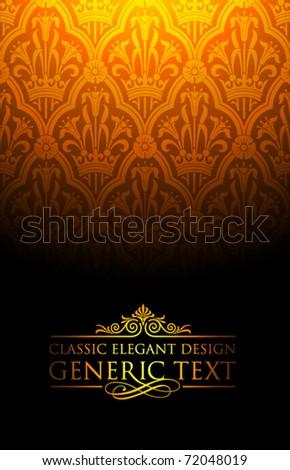 Vector Ornament Design - stock vector
