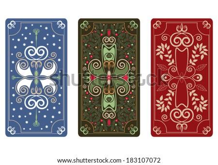 vector illustration tarot cards stock vector 198493715 shutterstock. Black Bedroom Furniture Sets. Home Design Ideas