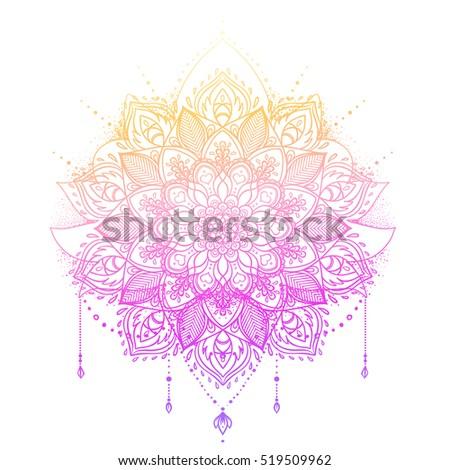 Abstract Romantic Vector Floral Background Sakura Stock ...