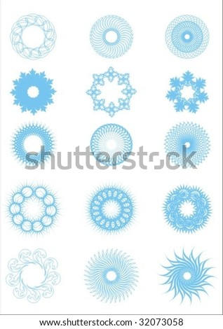 vector pattern - stock vector