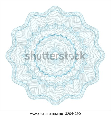 vector pattern for currency, certificate or diplomas - stock vector