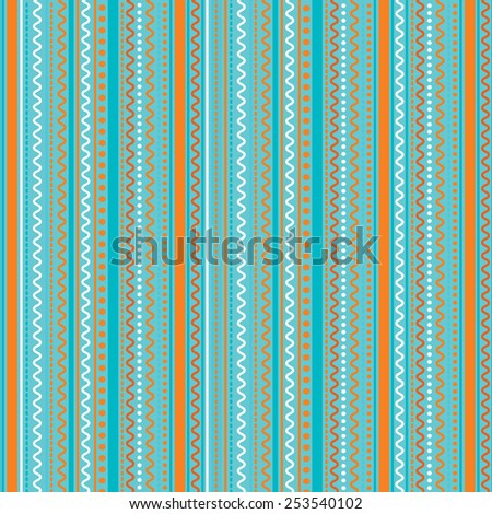 Vector pattern, geometric ornaments. Texture can be used for wallpaper, pattern fills, web page background, surface textures.  - stock vector