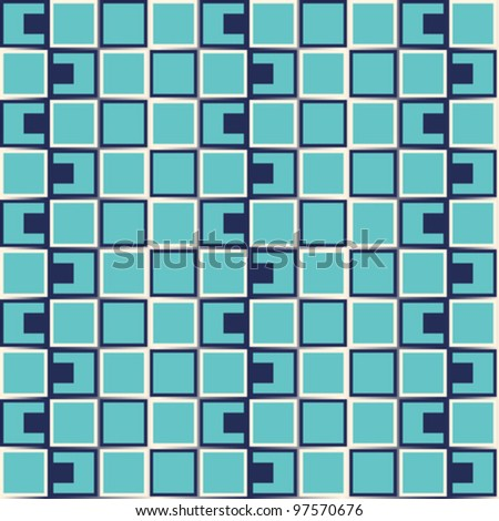 Vector Pattern - optical illusion