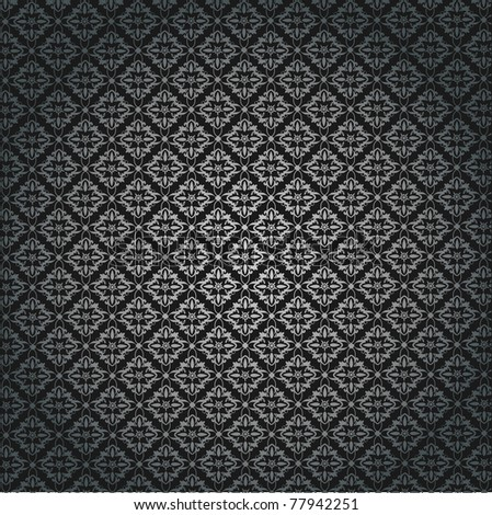 Vector Pattern Rose - stock vector
