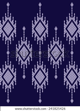 Vector pattern tribal ethnic.Beautiful abstract background. - stock vector