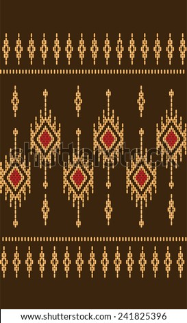 Vector pattern tribal ethnic.Designs for fabric and printing.Beautiful abstract background. - stock vector