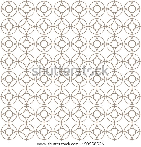 Vector pattern with art ornament. Elements for design . Ornamental lace tracery background.Beige white.  - stock vector