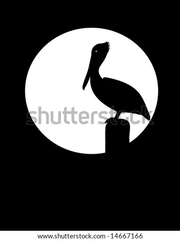 pelican silhouette stock images, royalty-free images & vectors