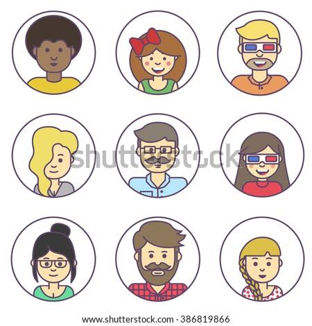 Woman Emoji Stock Vectors Amp Vector Clip Art Shutterstock