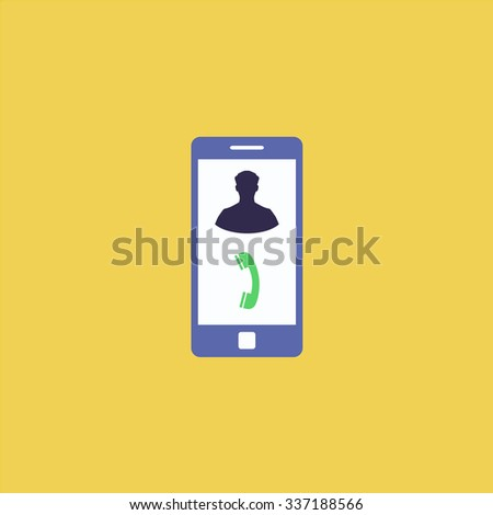 Vector Phone incoming call. Icon Vector. Icon Picture. Icon Graphic. Icon Art. Icon JPG. Icon JPEG. Icon EPS. Icon AI. Icon FLAT. Icon SIMPLE - stock vector