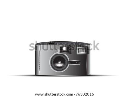 Vector Photo camera, 10eps - stock vector