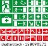 Vector pictographs - stock vector
