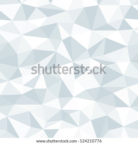 Vector Polygon Abstract Polygonal Geometric Triangle Seamless Background