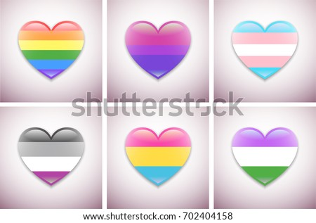 Vector Pride Flags Web Graphic Design Stock Vector Hd Royalty Free