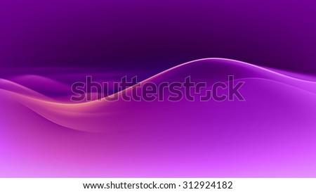Vector Purple Wave Background