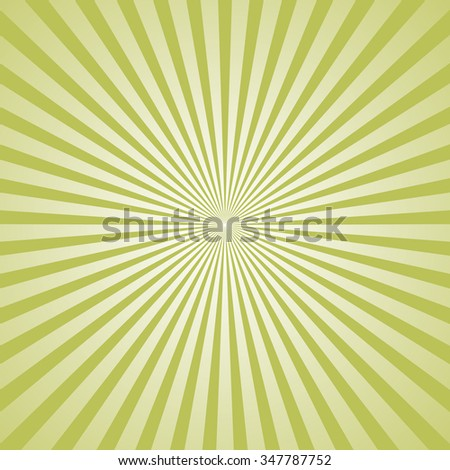 Vector rays star burst television vintage background - stock vector