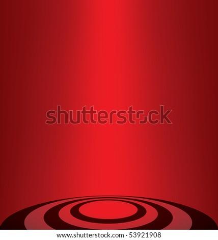 vector read lighting background - stock vector