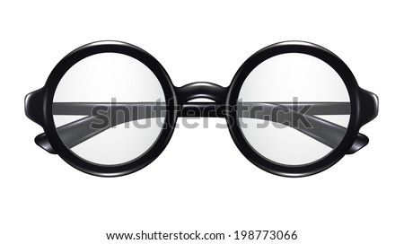 Vector Realistic Glasses - stock vector