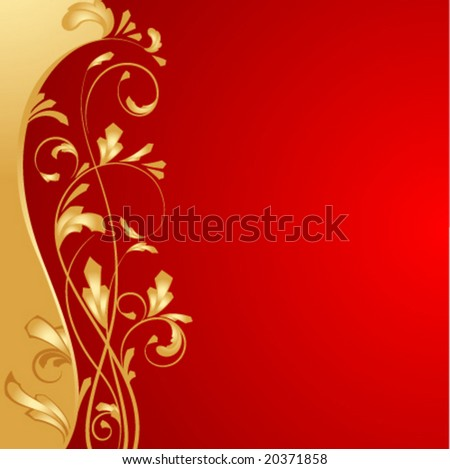 vector red background for design