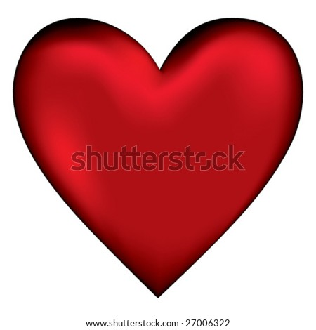 Vector red Heart.