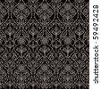 Vector Retro Wallpaper - stock