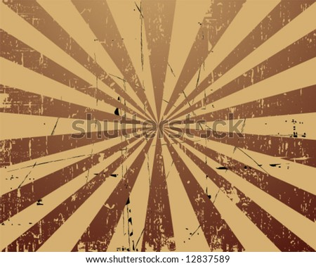 vector rubbed background - stock vector