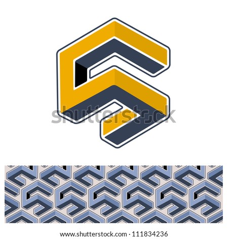 vector s symbol and s background. easy to edit. - stock vector