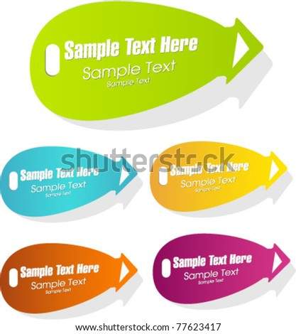 vector sale or discount labels, tags
