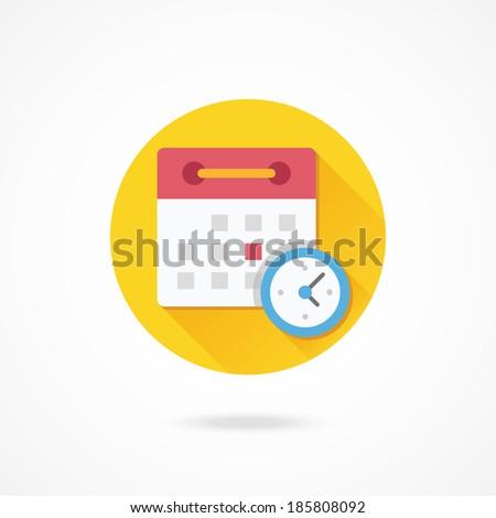 Vector Schedule Icon - stock vector