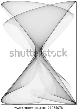 vector - seamless abstract  hourglass - stock vector
