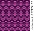 Vector Seamless Abstract Pattern.  - stock photo