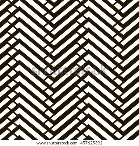 Vector Seamless Black And White Irregular Transition Abstract Background Pattern