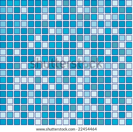 Vector seamless  Blue background (Raster version 25479334)