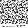 Vector. Seamless Classicism Wallpaper - stock vector