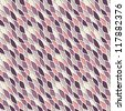 Vector seamless cute pattern. Texture of mesh. Pastel volume cells - stock vector